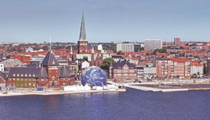 Paysage d'Aarhus