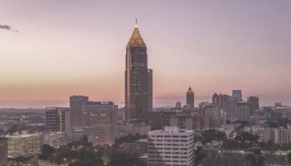 Paysage d'Atlanta