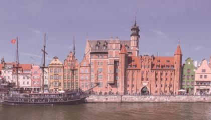 Paysage de Gdansk