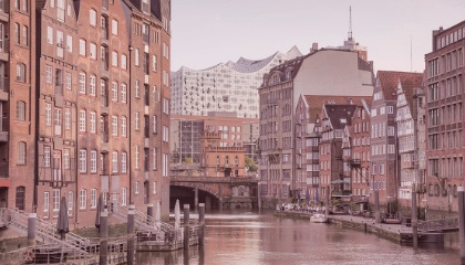 Paysage de Hambourg