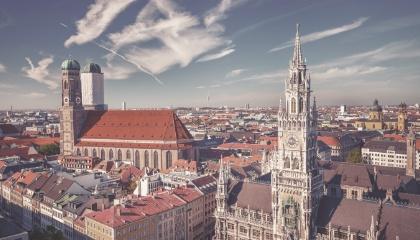 Vista de Múnich