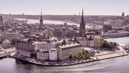 Paysage de Stockholm