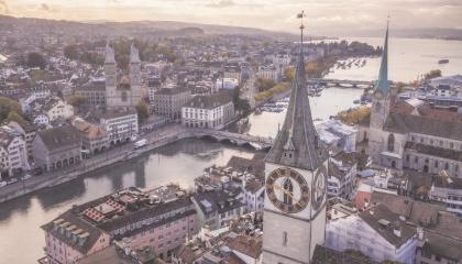 Paysage de Zurich