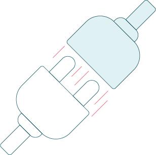Illustration d'une prise