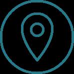 Icône de position géographique