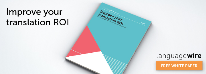 Download Translation ROI white paper