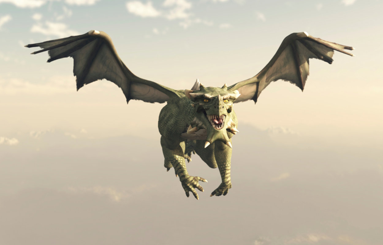 Dragon in Air