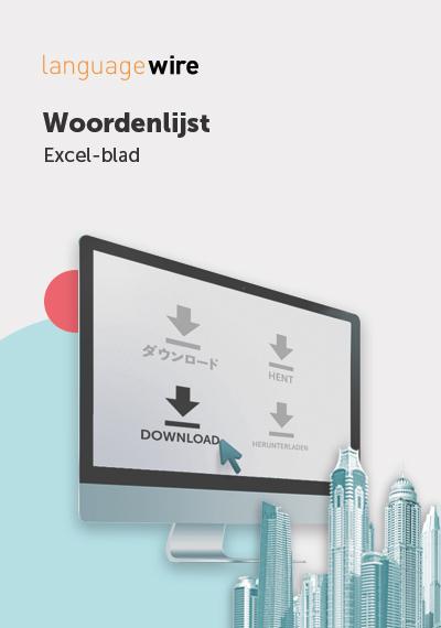 Cover handige woordenlijst belangrijke terminologie