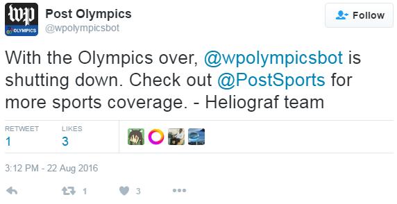 Olympics Bot
