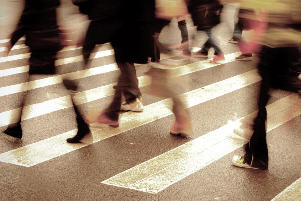 Omnichannel Fußgänger