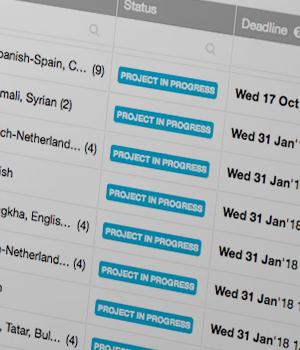 Projektöversikt