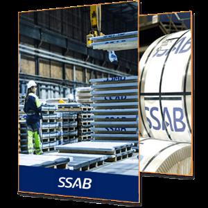 SSAB branded image