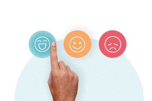 emojier med forskjellig humør