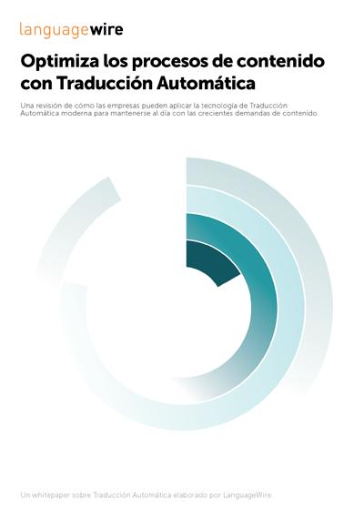 PDF: Optimiza los procesos de contenido con Traducción Automática