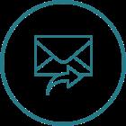 Icône d'envoi d'e-mail