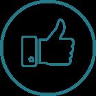Sosiale medier-ikon