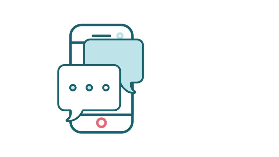 Kommunikation via mobiltelefon
