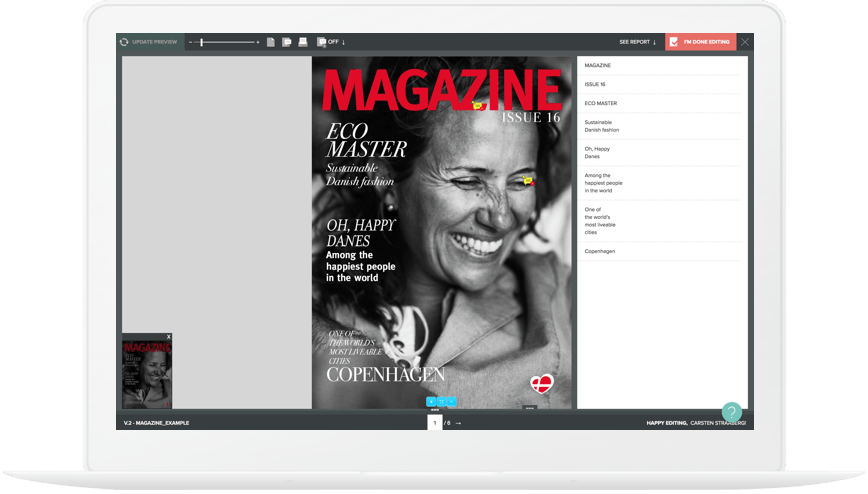 InDesign Collaboration Tool