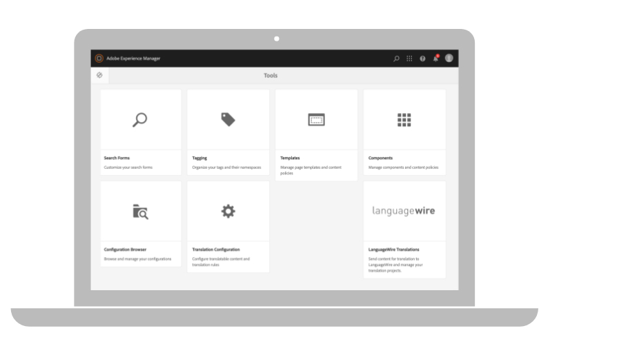 Intégration dans Adobe Experience Manager