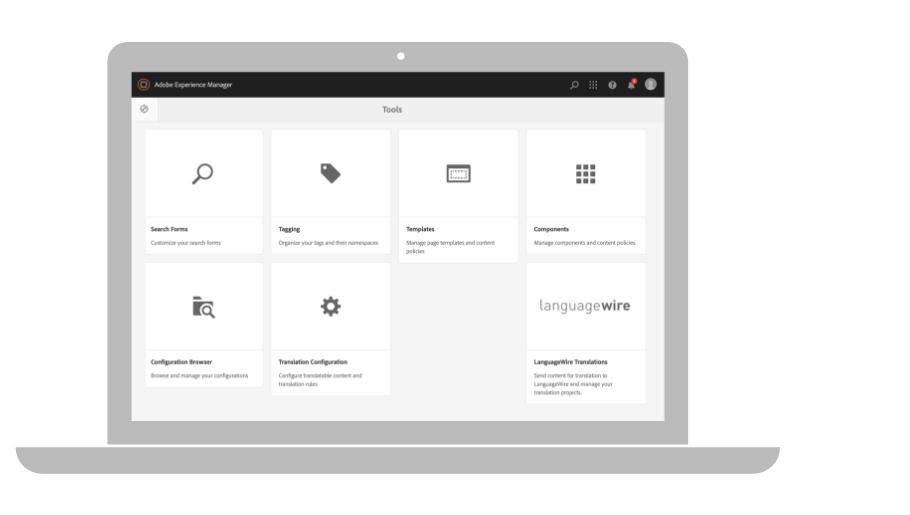 Adobe Experience Manager-integrasjon