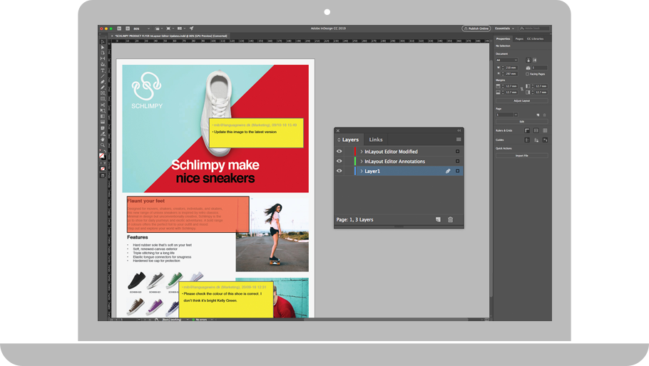 InLayout Editor – Let at identificere
