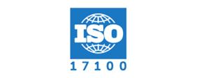 Logo for ISO 17001