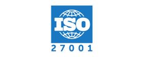 Logo for ISO 27001