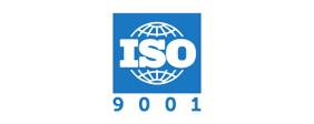 Logo for ISO 9001