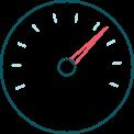 icono de panel acelerador
