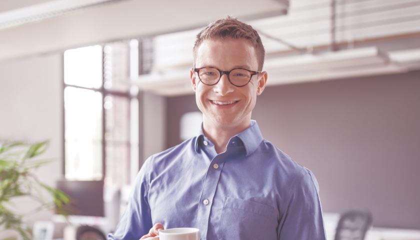 Une photo de profil d'un chef de projet