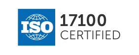 ISO 17100 compliance flag