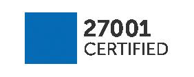 Flagga för ISO 27001-efterlevnad