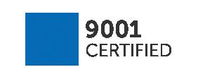 ISO 9001 compliance flag