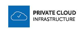 Flagga för privat molninfrastruktur