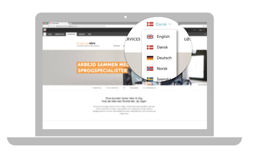 Språkversioner i Sitecore