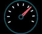Icono de un acelerador