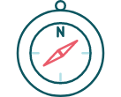 Kompass-ikon