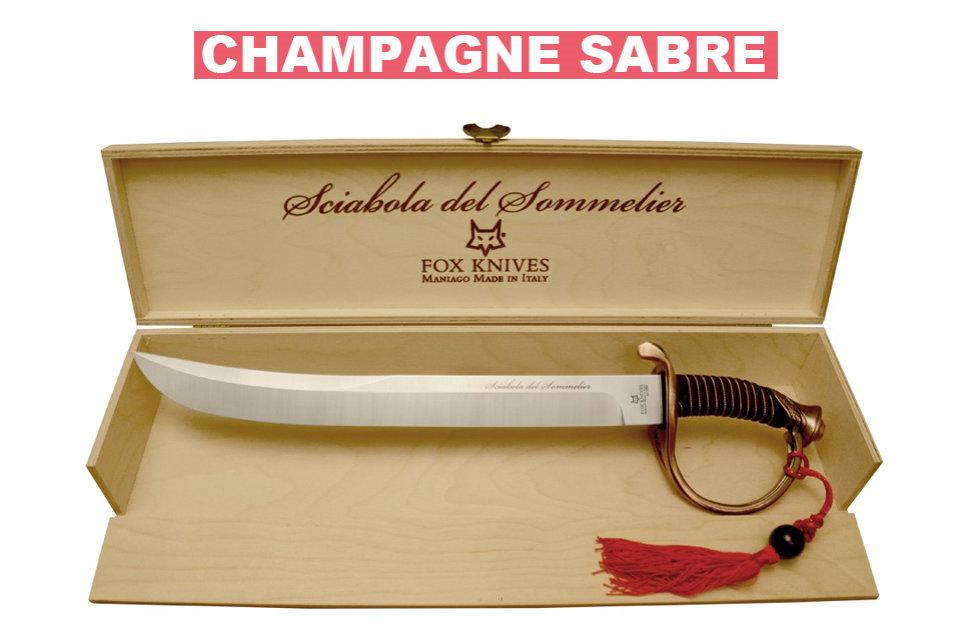 Champagne Sabre