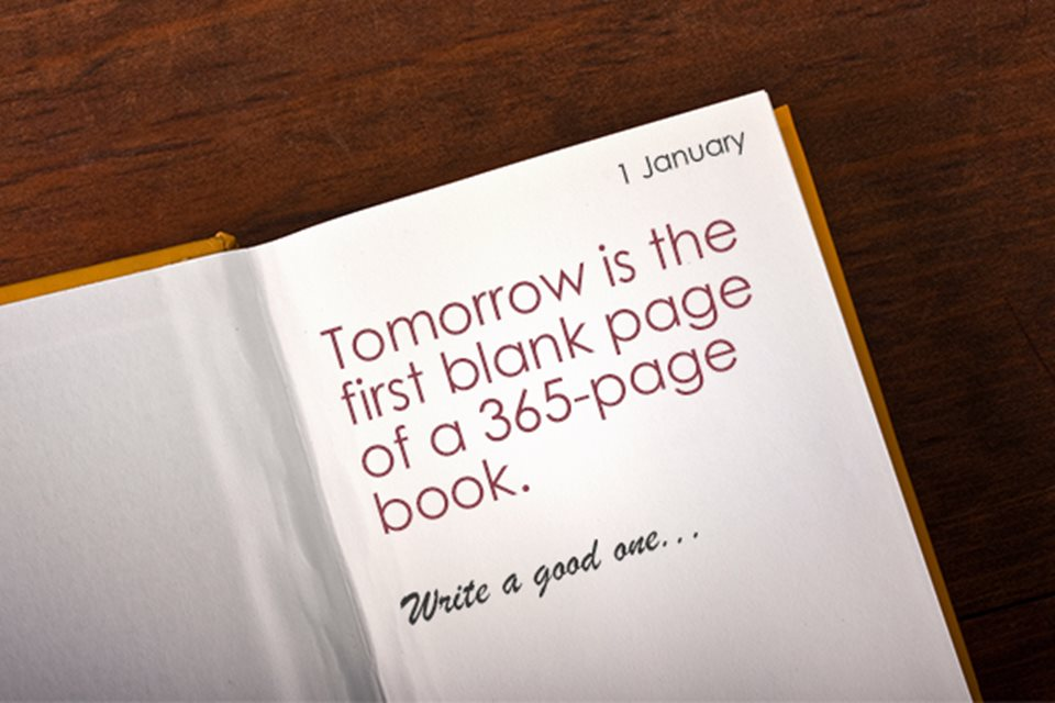 The First Blank Page