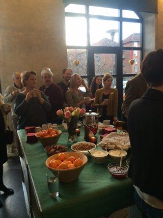 Christmas Meet Table 1